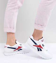 Белые кроссовки Reebok - Черный