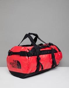 Средняя сумка дафл объемом 71 литр (красный/черный) The North Face Base Camp - Красный