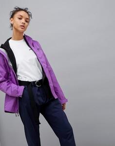 Фиолетовая куртка на молнии с капюшоном Patagonia Torrentshell - Фиолетовый