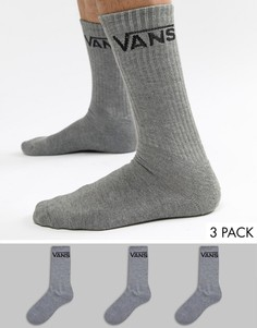 3 пары серых носков Vans Classic VXSEHTG - Серый