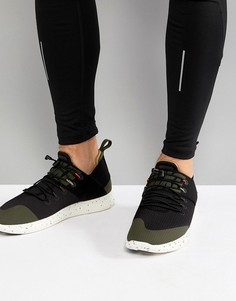 Черные кроссовки в стиле милитари Nike Running Free Run Commuter 2017 AH6840-001 - Черный