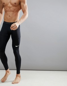 Черные леггинсы Nike Training Pro 838067-010 - Черный