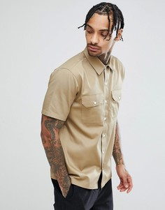 Рубашка с короткими рукавами Carhartt WIP Master - Бежевый