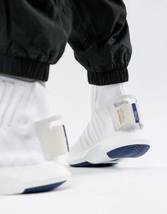 Белые кроссовки adidas Originals Crazy Sock Primeknit CQ1012 - Белый