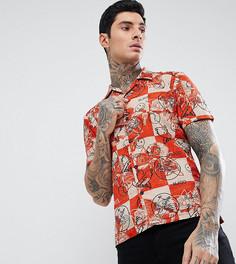 Рубашка Nudie Jeans Co Brandon - Красный