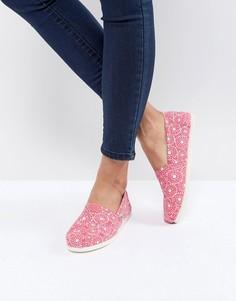 Туфли TOMS - Красный