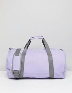 Спортивная сумка дафл из хлопковой парусины Mi-Pac - Фиолетовый