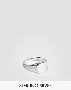 Серебряное кольцо на мизинец ASOS DESIGN - Серебряный