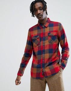 Красная фланелевая рубашка Vans - Красный