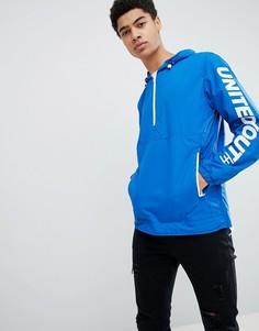 Куртка с названием бренда на рукаве Jack & Jones Core - Синий
