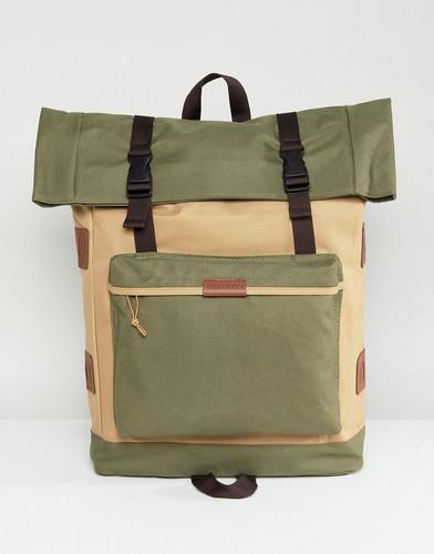 Рюкзак цвета хаки Lyle & Scott Explorer - Зеленый