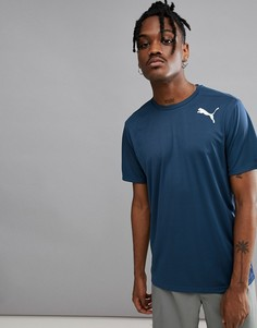 Синяя футболка Puma Running Essential 51518524 - Синий