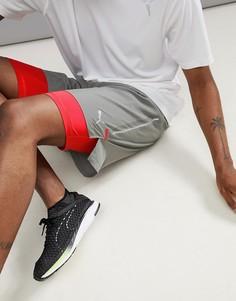 Серые шорты 2-в-1 длиной 7 дюймов 51626502 Puma Running Power Run - Серый
