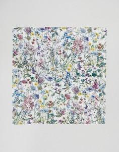 Платок для нагрудного кармана с цветочным принтом Gianni Feraud Liberty - Мульти