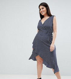 Платье на бретелях с принтом пейсли AX Paris Plus - Мульти