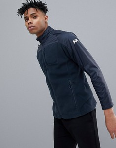 Темно-синяя флисовая куртка Helly Hansen Storm - Темно-синий