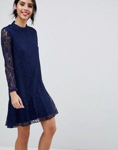 Кружевное платье Little Mistress - Синий