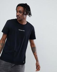Черная футболка с логотипом на груди DC Shoes Craigburn - Черный