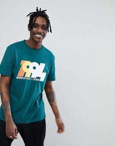Зеленая футболка с логотипом 1994 DC Shoes - Зеленый