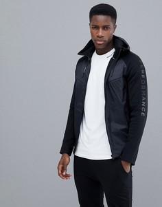 Черная штормовая куртка Peak Performance - Черный