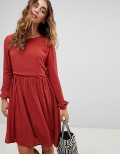 Свободное платье Pepe Jeans Nekane - Красный