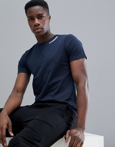 Темно-синяя спортивная футболка Peak Performance - Темно-синий