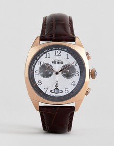 Коричневые часы Vivenne Westwood Hampstead - Коричневый