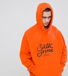 Худи оранжевого цвета Sixth June эксклюзивно для ASOS - Оранжевый