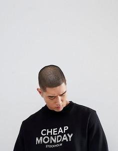 Свитер с логотипом Cheap Monday Worth - Черный