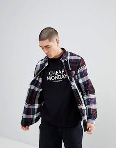 Клетчатая рубашка Cheap Monday - Синий