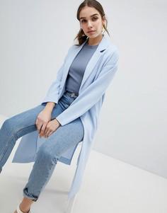 Легкое пальто Monki - Синий