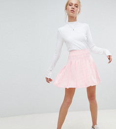 Мини-юбка в клетку Daisy Street - Розовый