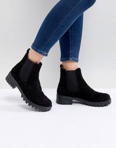 Замшевые ботинки челси ASOS DESIGN Aquarius - Черный