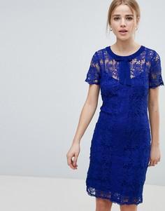 Кружевное платье Angel Eye - Темно-синий