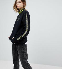 Черный пуловер с молнией до груди Vans эксклюзивно для ASOS - Черный
