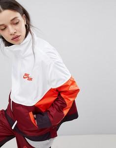 Спортивная куртка колор блок с кнопками Nike - Мульти