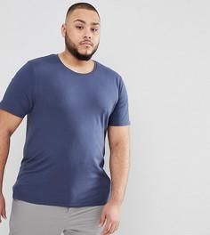 Обтягивающая футболка Only & Sons PLUS - Темно-синий