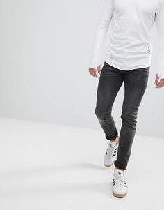 Зауженные джинсы с перекрученными швами Religion - Черный