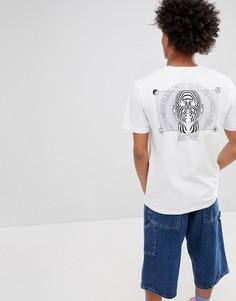 Белая футболка с принтом SWEET SKTBS - Белый