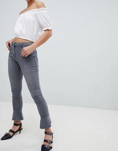 Расклешенные джинсы скинни Parisian - Серый