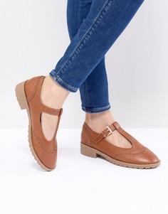 Туфли на плоской подошве ASOS DESIGN Maxime - Рыжий