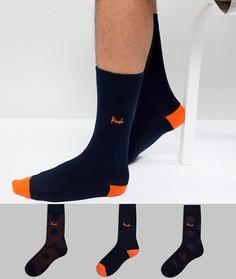 3 пары носков Pringle - Темно-синий