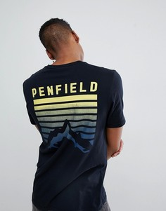 Черная футболка с логотипом Penfield - Черный