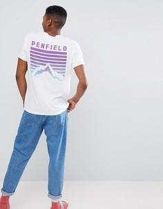 Белая футболка с логотипом Penfield - Белый