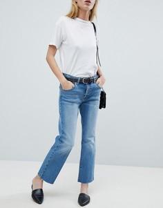 Узкие укороченные джинсы Dr Denim - Синий