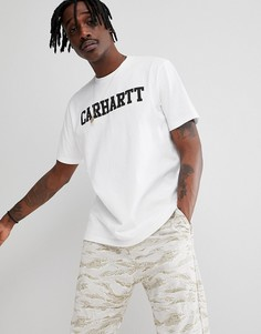 Белая футболка Carhartt WIP College - Белый