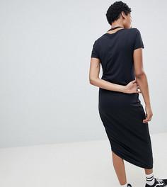 Асимметричное платье миди Noisy May Tall - Черный