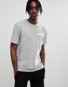 Серая футболка Carhartt WIP College - Серый