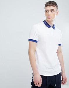 Поло белого цвета с контрастным воротником PS Paul Smith - Белый