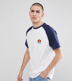 Белая футболка с рукавами-реглан и логотипом ellesse - Белый